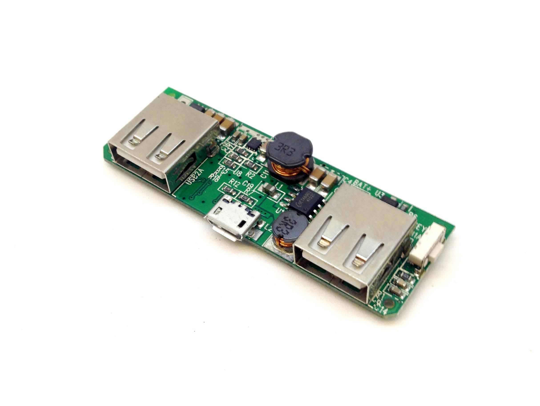 Mạch sạc và bảo vệ Pin 3.7V 1A 2 cổng USB