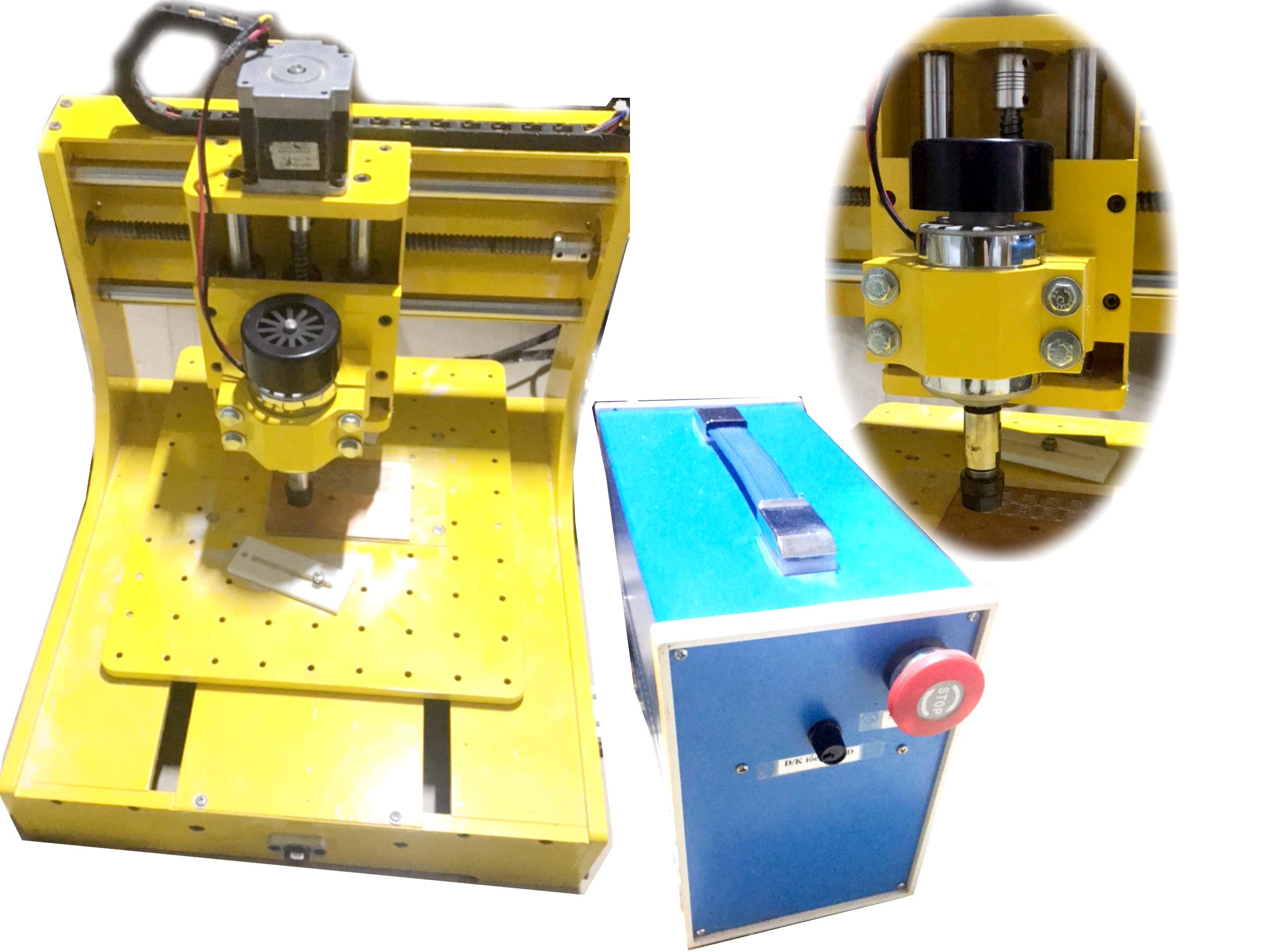Máy phay khắc CNC 3D Mach3 khổ 20x20 cm