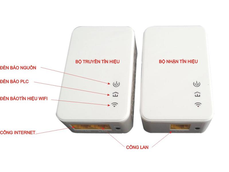 Bộ mở rộng wifi bằng đường dây điện PEB-200