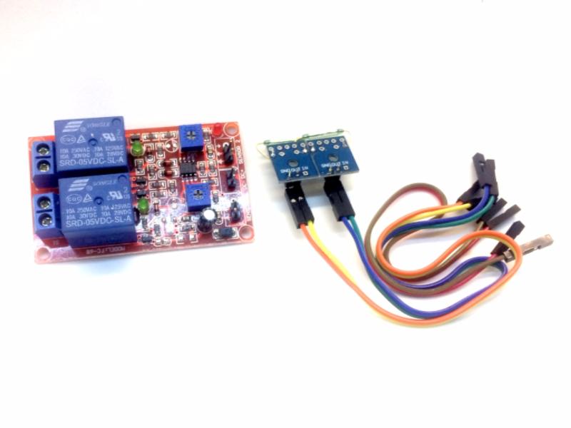 Module 2 relay có cảm biến từ trường Nam châm