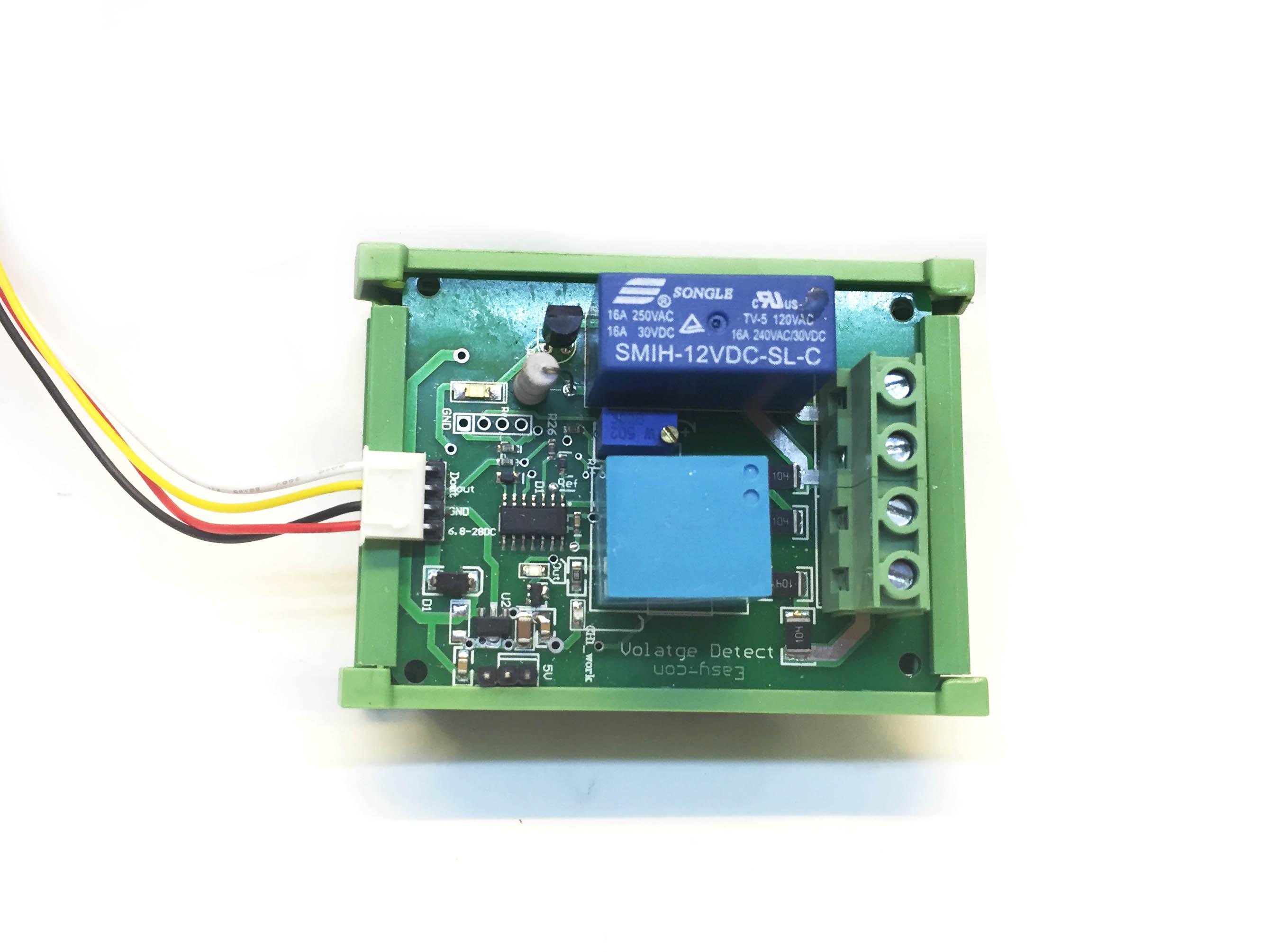 Module bảo vệ quá áp hoặc thấp áp xoay chiều 0-500VAC có relay