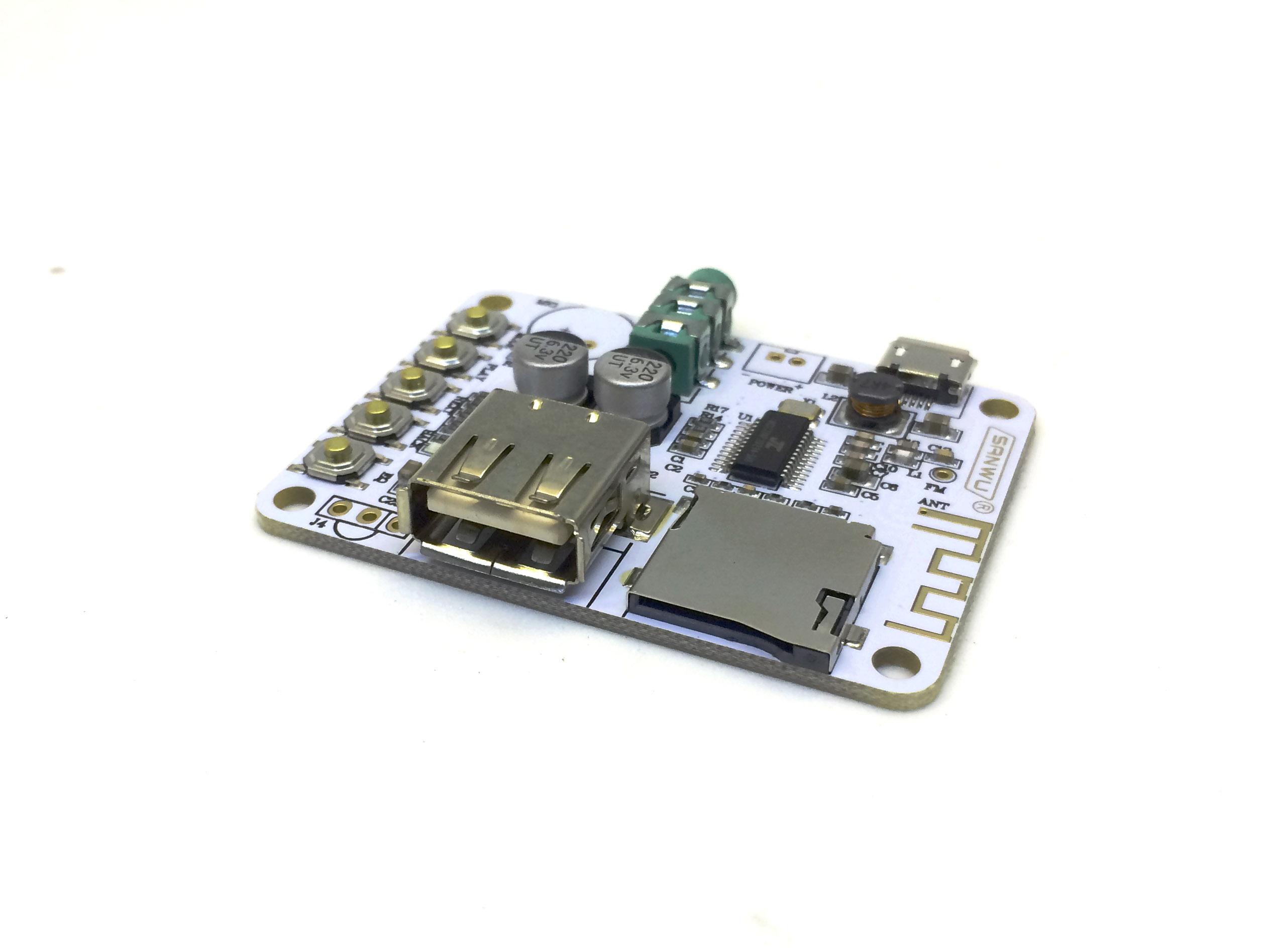 Module chạy nhạc qua USB, thẻ nhớ, Bluetooth