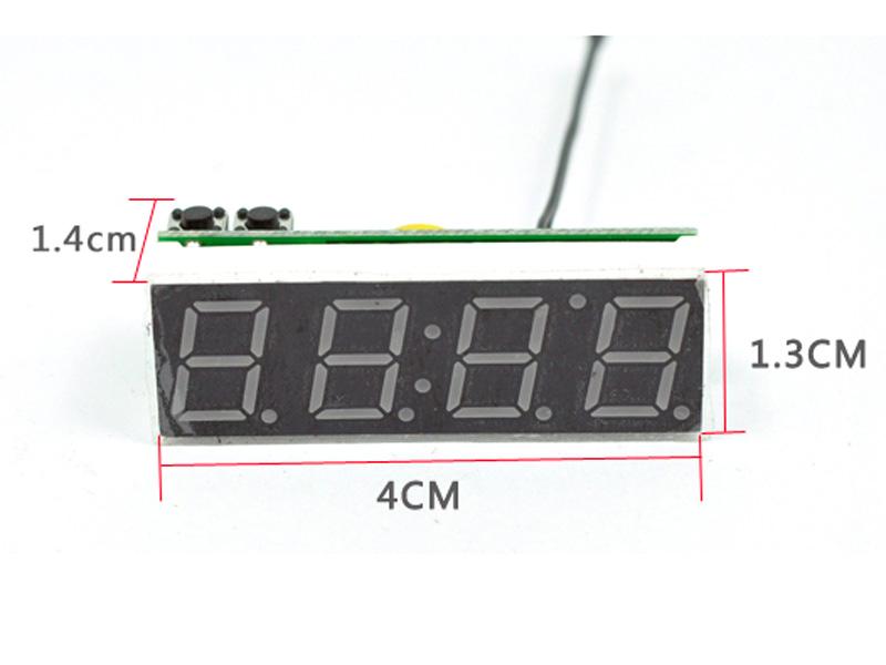 Module Đồng hồ điện tử giờ, ngày, nhiệt độ