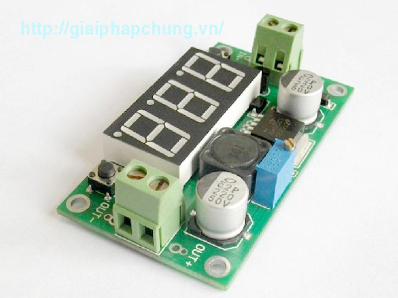 Module Hạ áp DC LM2596S có Led hiển thị