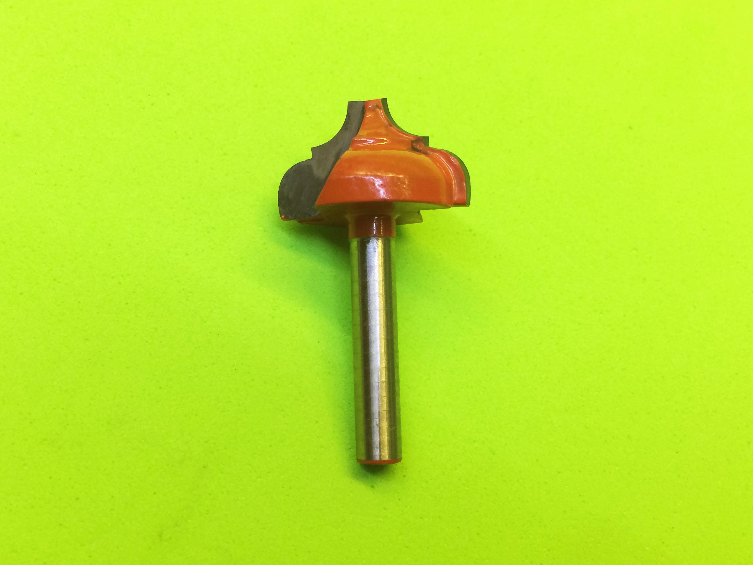 Mũi phay gỗ tạo kiểu B trục 6mm