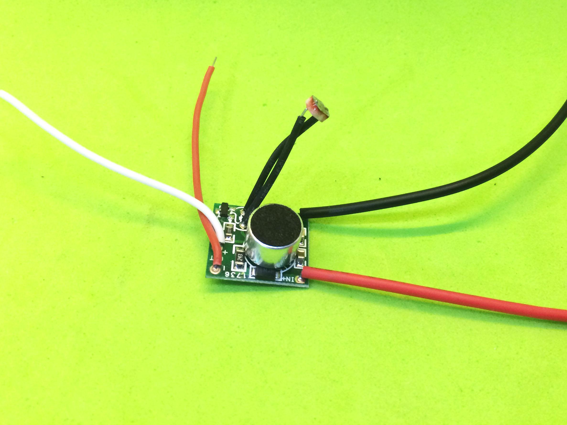 Module nháy đèn Led theo nhạc và ánh sáng