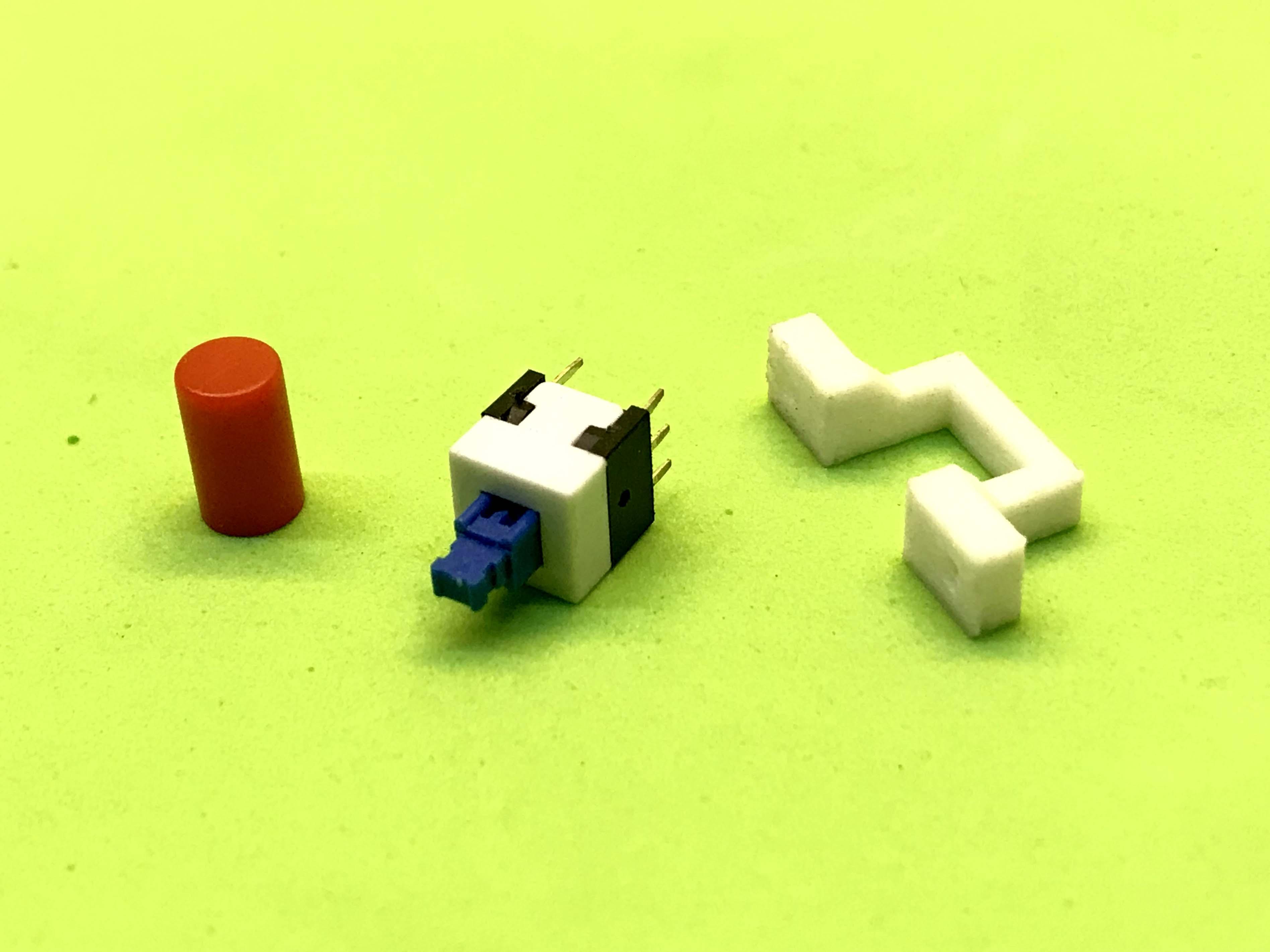 Nút nhấn 8 x 8 mm và bộ gá