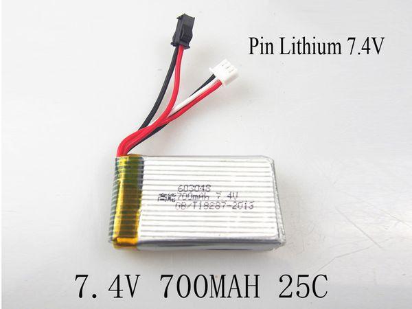 Pin Máy bay lithium 2S 700mAh