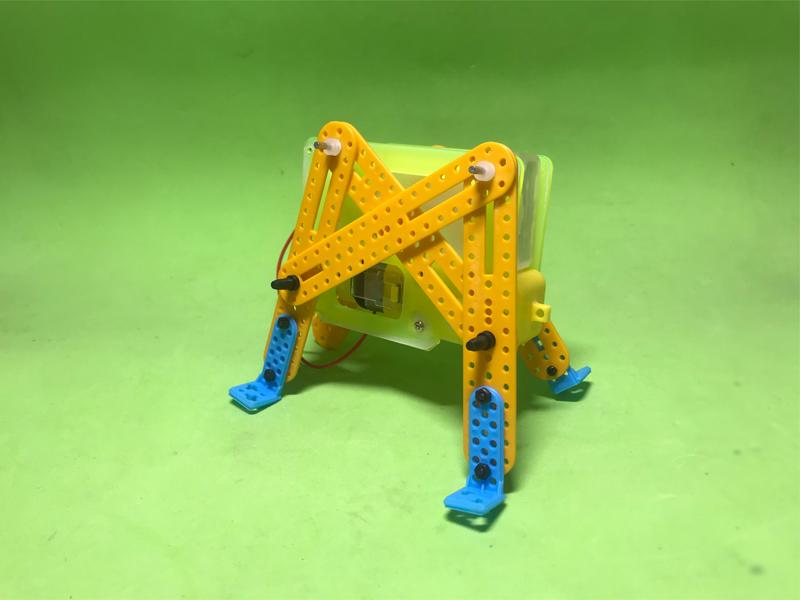 Robot côn trùng dùng động cơ DC vàng
