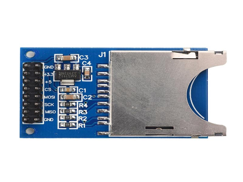 SD Card Module Slot Socket Reader