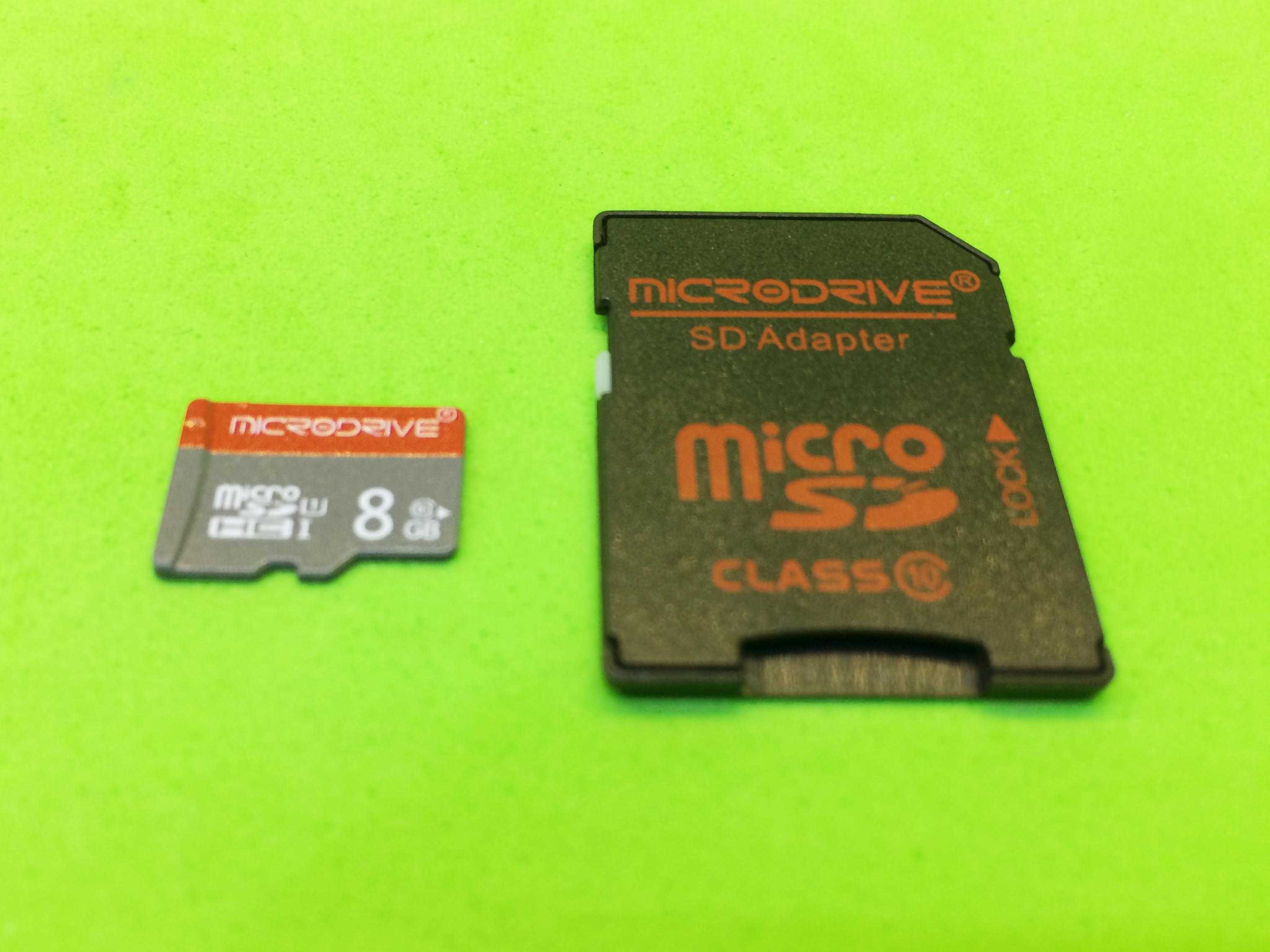 Thẻ nhớ 8GB micro SD Class 10