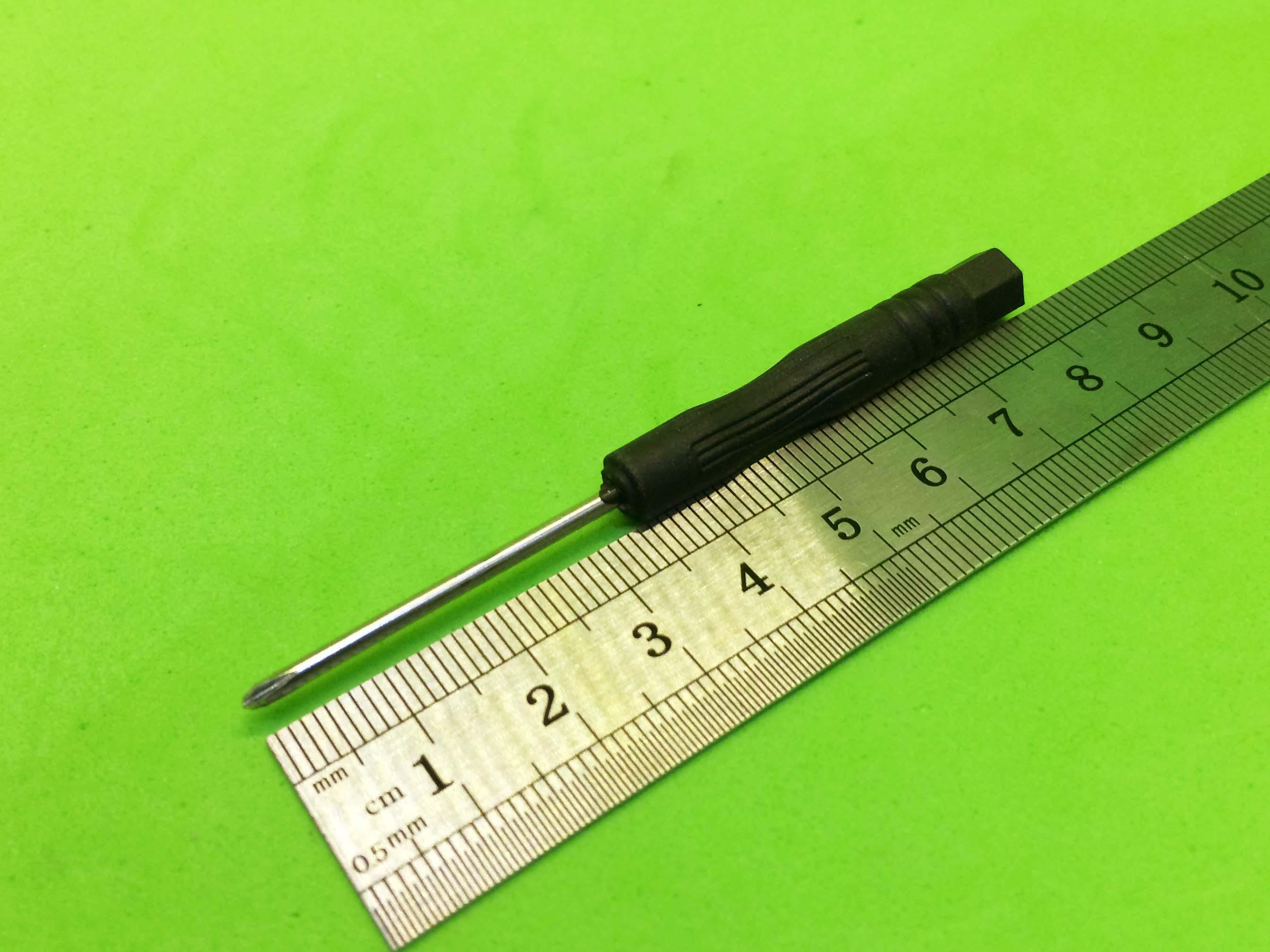 Tô vít đen 4 cạnh 2mm