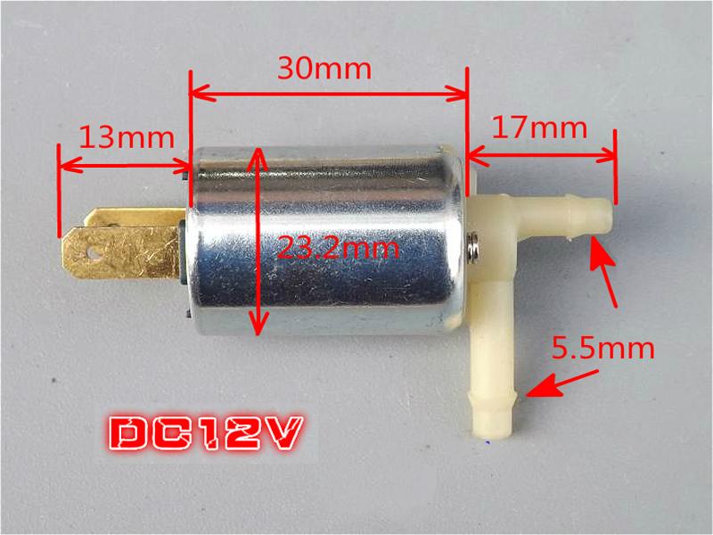 Van điện đóng mở nước dùng điện DC12V