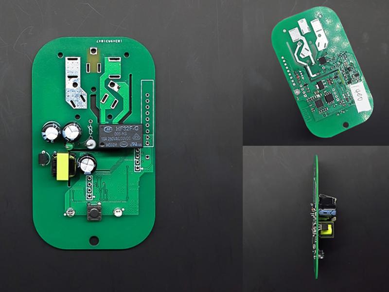 Vỉ mạch ổ cắm PSA 1 ổ, điều khiển qua Wifi