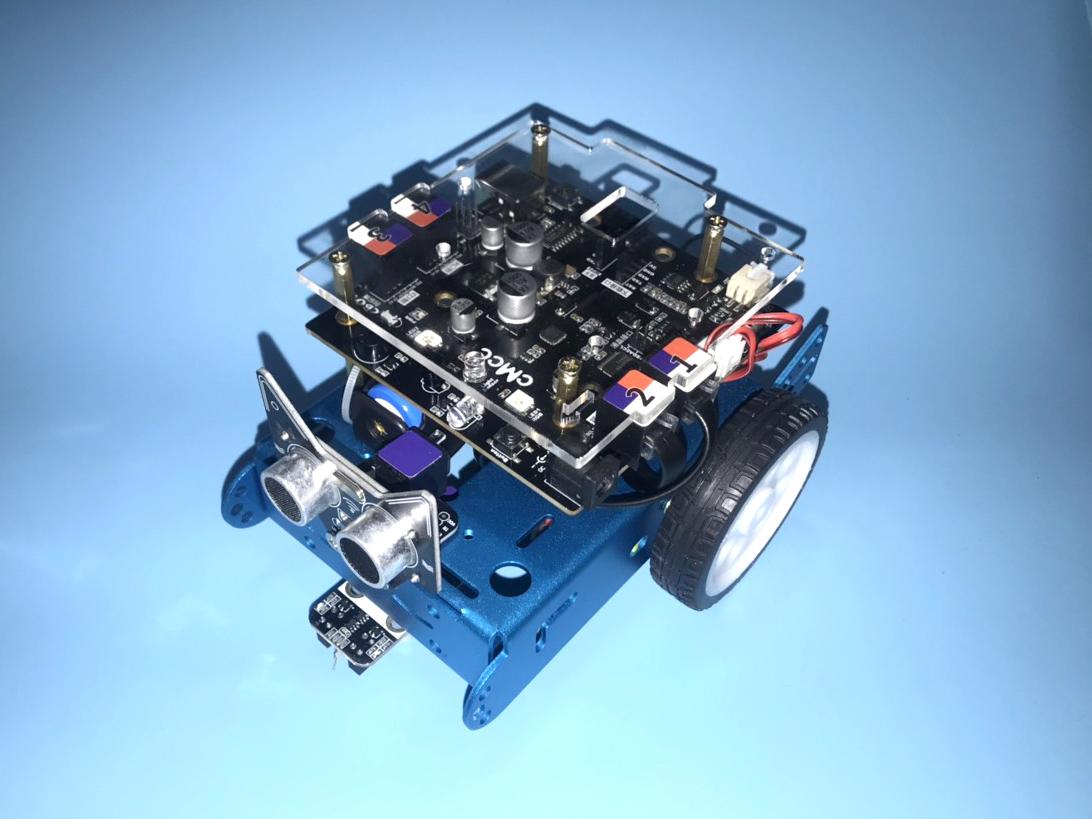 Bộ xe Robot lập trình bằng phần mềm Scratch