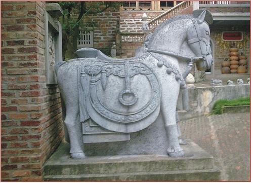 Ngựa đá 04