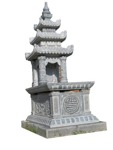 Mộ đá ba mái 10 ,cung cấp mộ ba mái bằng đá