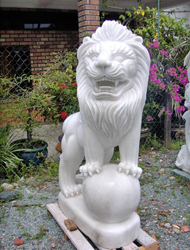Sư tử đá 01