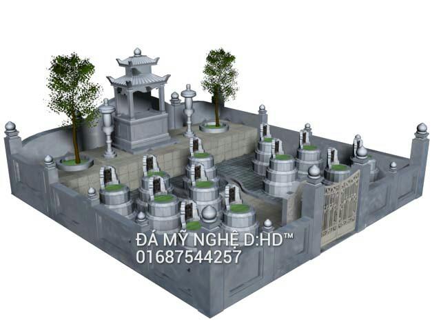 Khu lăng mộ đá 30