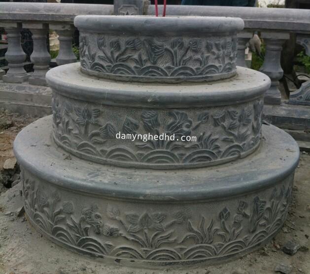 mộ đá tròn 05