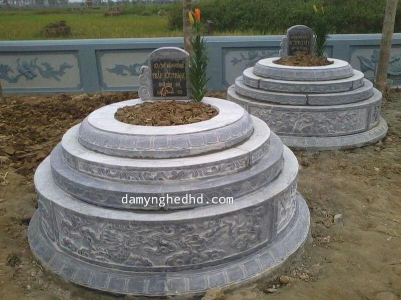 mộ đá tròn 10