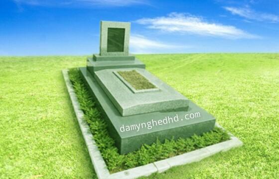 mộ đá khối 15