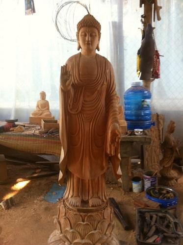 Tượng Phật Adida 01
