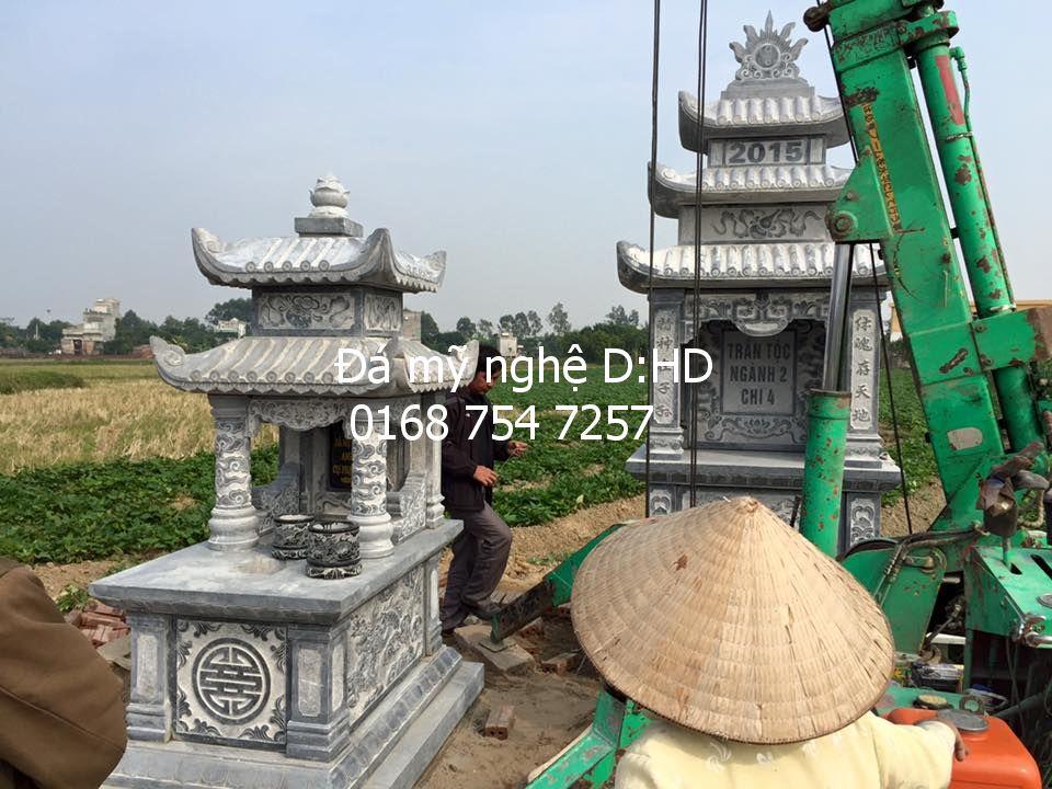 Mộ đá hai mái 14 ,tại Nam Định