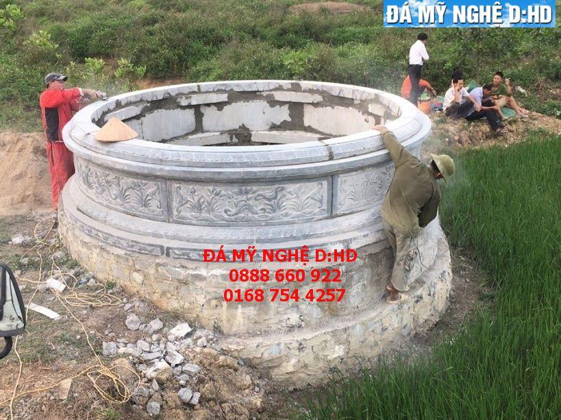 Mộ đá tròn 33 ( mộ tổ )