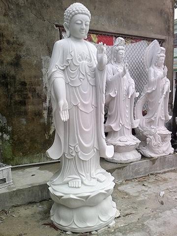 Tượng Phật A di đà 02