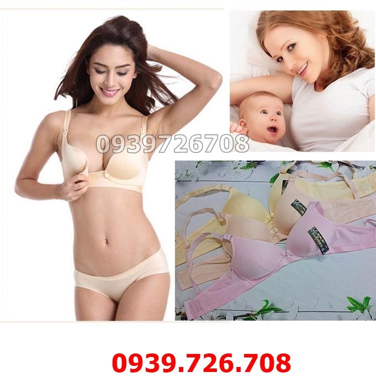 Áo ngực cho bé bú lỗ thông hơi hàng Thái