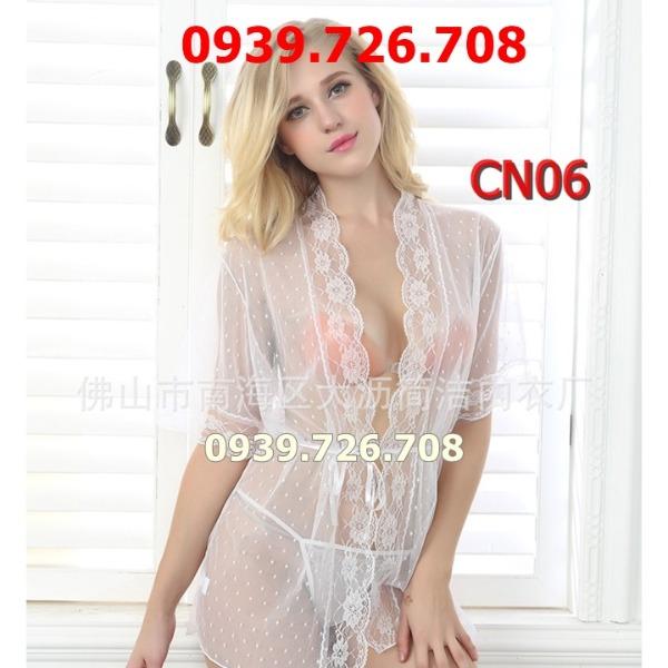 Áo choàng ngủ lưới sexy CN06
