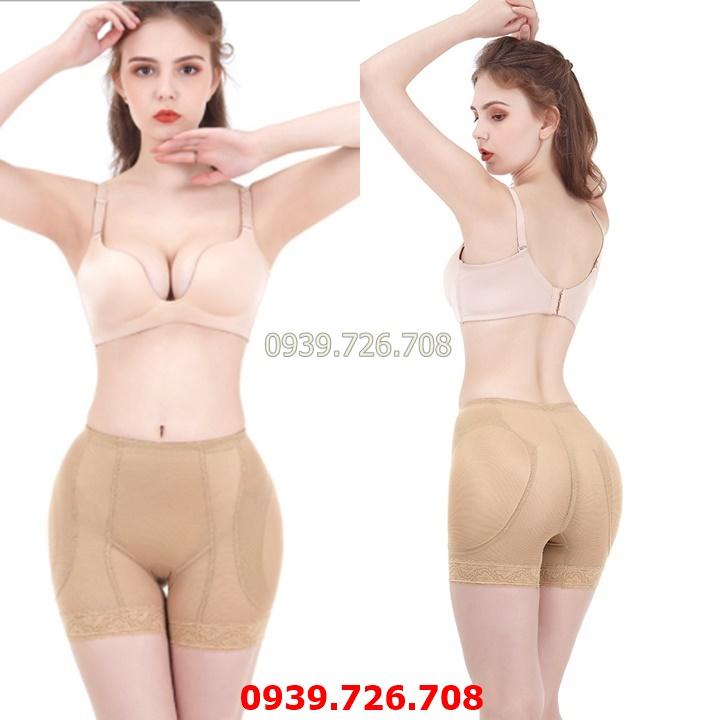 Quần độn hông - Quần lót độn hông cao cấp tạo vòng mông tròn trịa che khuyết điểm hông lép - MÀU da