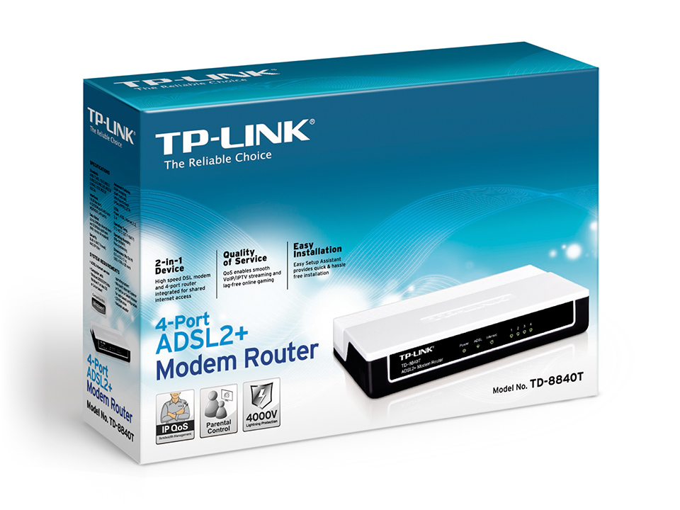 router-modem-adsl2-td-8840t