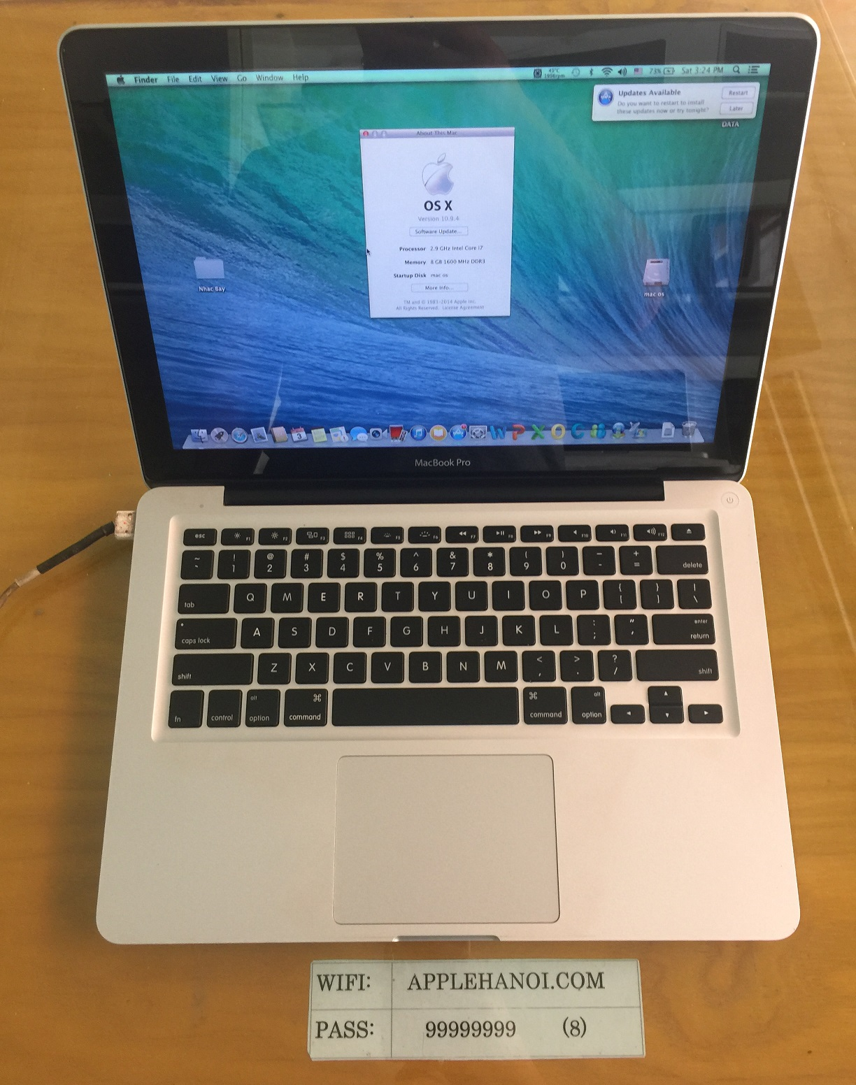 MACBOOK PRO MD102 MID 2012