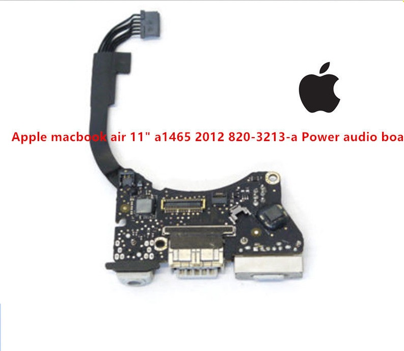 power jack USB AUDIO BOARD 820-3213-a Apple macbook air 11inch A1465 2012 MD223 MD845