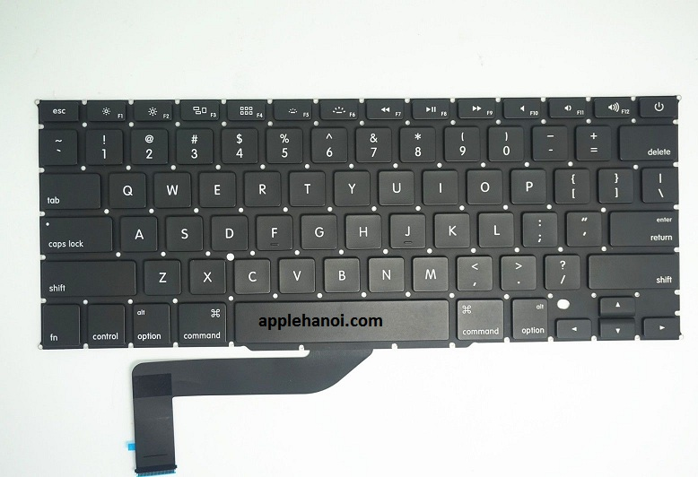 New Original Apple Macbook Pro 15 INH Retina A1398 Keyboard 2012 2013 2014 US