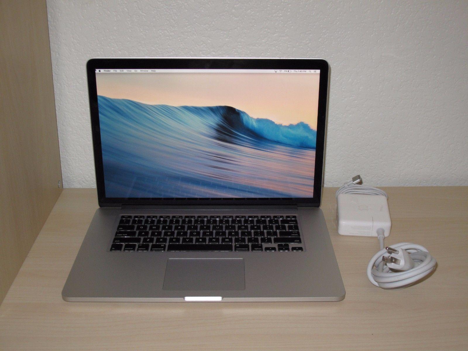 Apple MacBook Pro A1398 15.4 MGXA2LLA Mid 2014