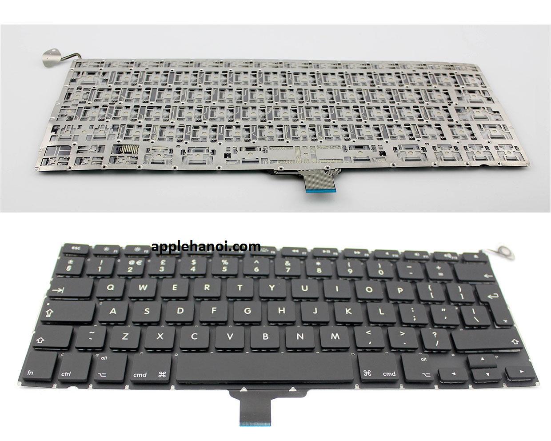 Phím macbook pro A1278 mb990 mb991 mc374 mc700 md313 md101 md102 chuẩn EU