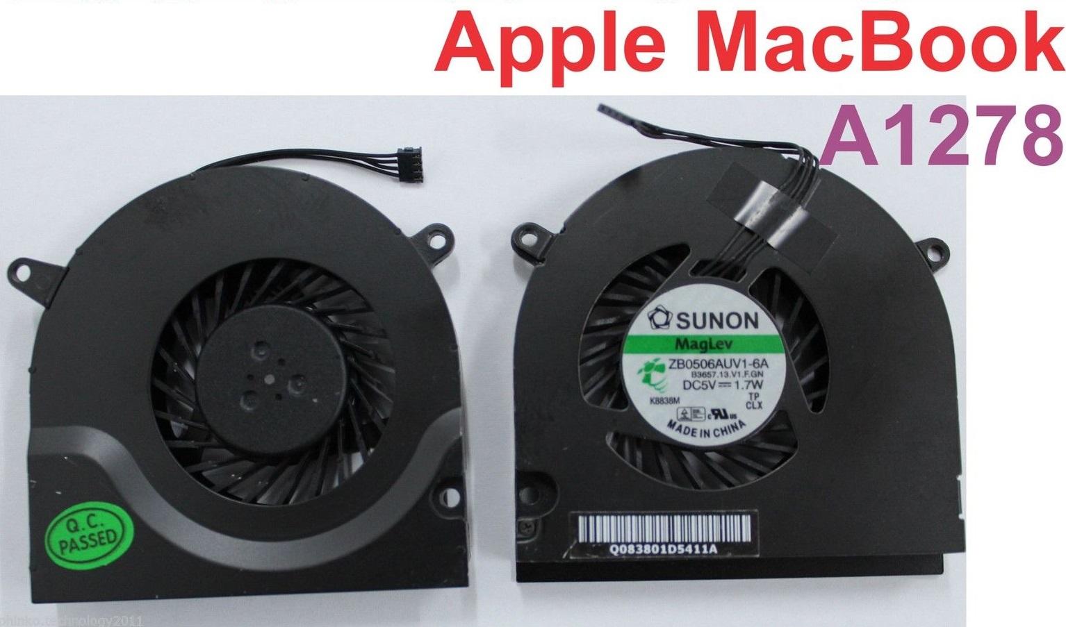 Cooling Fan CPU MACBOOK A1278 13