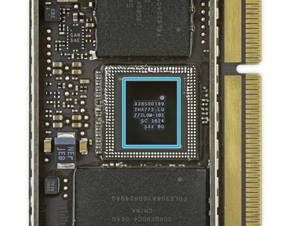 SSD MACBOOK PRORETINA 13