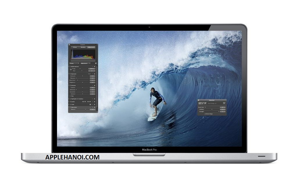 MACBOOK PRO MC725 Intel I7 - 2.2ghz Ram 8GB 1600Mhz HDD 750GB VGA Graphics HD3000 + ATI HD 6750M - 1GB 98%