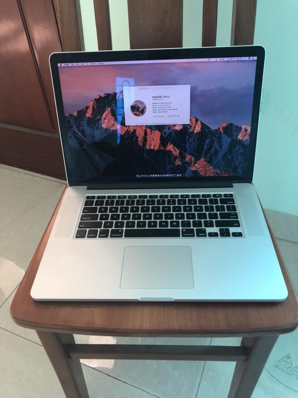 MacBook Pro Retina MD831