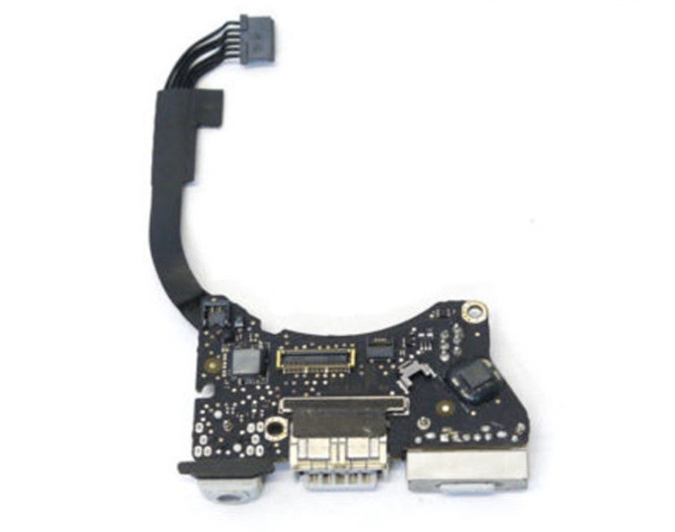 Board nguồn dc power jack USB AUDIO BOARD 820-3213-a sử dụng cho Macbook air A1465 11inch 2012 MD223 MD845