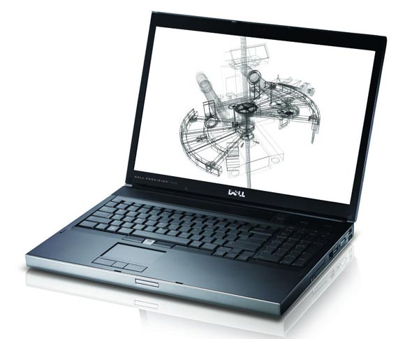 Dell Precision M6500 Core i7 720QM-820QM, RAM 4GB, HDD 320GB, VGA NVidia Quadro FX 2800M, 17 inch 1920x1200