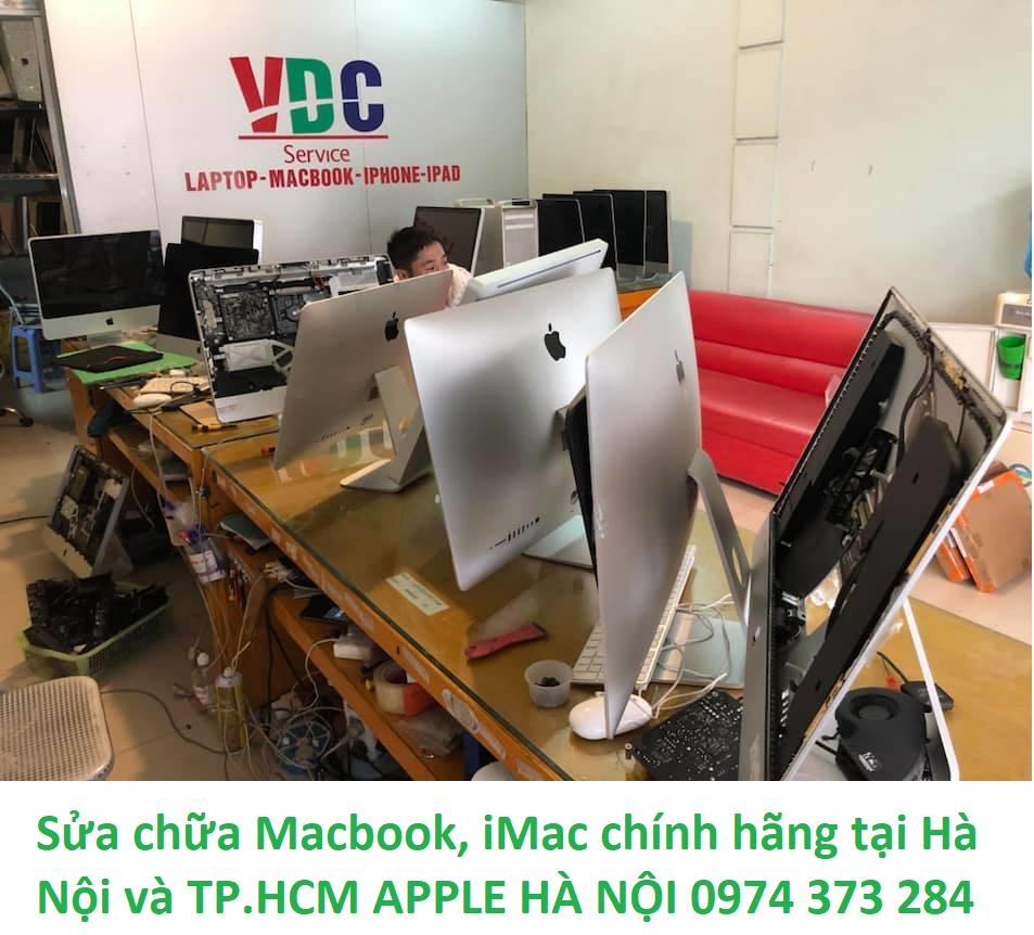 Sửa chữa Macbook, iMac chính hãng tại Hà Nội và TP.HCM APPLE HÀ NỘI