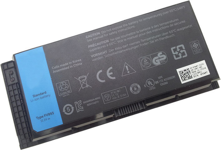 Thay pin laptop dell precision M6700