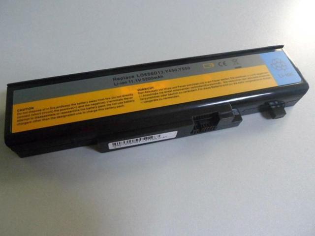 Thay pin laptop lenovo ideapad Y550A Y550P