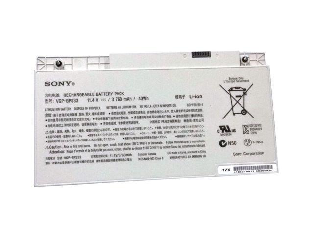 Thay pin laptop Sony Vaio VGP-BPS33
