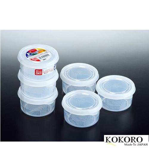 Set 3 Hộp Nhựa Tròn Nhật Bản (180ml)